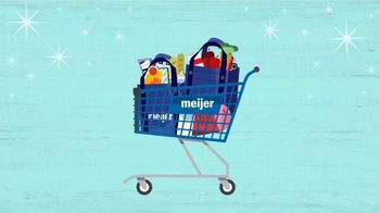 Meijer TV Spot, 'Holidays: Tis the Season: Spend $100'