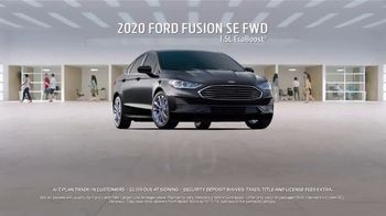 2020 Ford Fusion TV Spot, 'Current A/Z Plan: Lease a Fusion' [T2] - Thumbnail 1