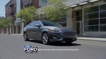 2020 Ford Fusion TV Spot, 'Current A/Z Plan: Lease a Fusion' [T2] - Thumbnail 3