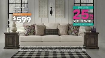 Ashley HomeStore Black Friday Sale TV Spot, 'Extended: 25 Percent Off' Song by Midnight Riot - Thumbnail 3