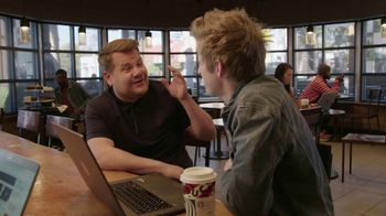 Starbucks TV Spot, 'The Late Late Show: Starbucks Theater' Featuring James Corden - Thumbnail 6