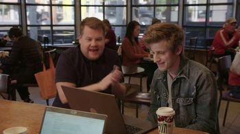 Starbucks TV Spot, 'The Late Late Show: Starbucks Theater' Featuring James Corden - Thumbnail 8