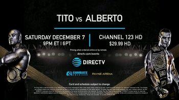 DIRECTV TV Spot, 'UFC: Tito vs. Alberto' - 8 commercial airings