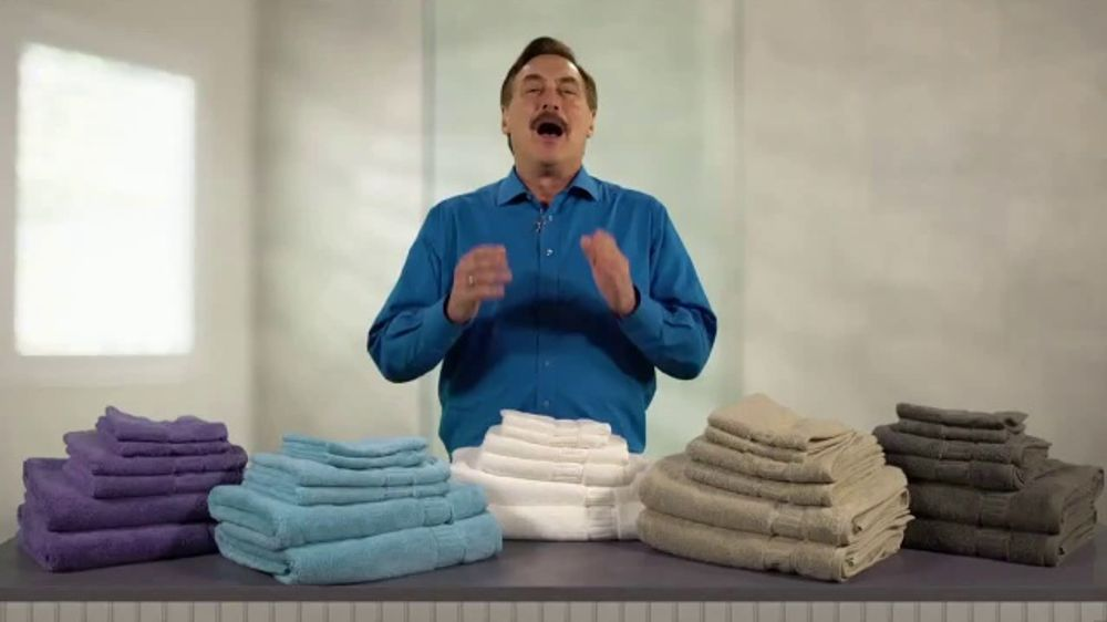 My Pillow Bath Towels TV Commercial, 'Brand New Product: 30 Percent Off Six Pack'