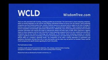 WisdomTree TV Spot, 'WCLD: WisdomTree Cloud Computing Fund' - Thumbnail 7