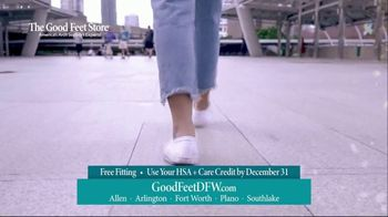The Good Feet Store TV Spot, 'Functionality'