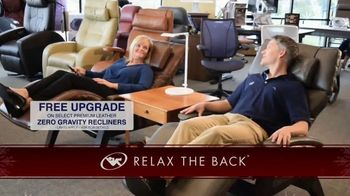Relax the Back TV Spot, 'Holidays: Free Upgrade'