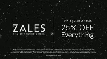 Zales Winter Jewelry Sale TV Spot, 'Holidays: The Diamond in Your Life' - Thumbnail 9