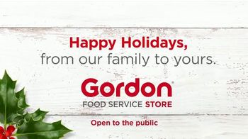 Gordon Food Service Store TV Spot, 'Holidays: Most Wonderful Deals of the Year' - Thumbnail 10