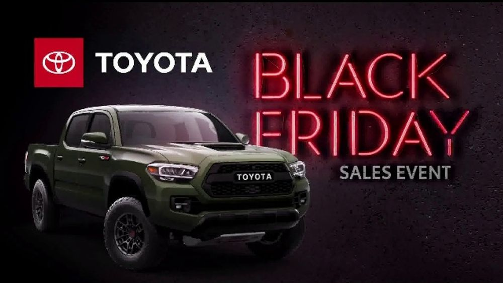 Tacoma Back Pages >> Toyota Black Friday Sales Event Tv Commercial Back By Popular Demand Tacoma And Tundra T2 Video