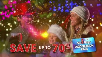 Six Flags Holiday in the Park TV Spot, 'Northern California's Biggest & Brightest: 70 Percent Off' - Thumbnail 7