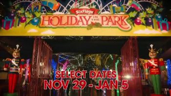 Six Flags Holiday in the Park TV Spot, 'Northern California's Biggest & Brightest: 70 Percent Off' - Thumbnail 1