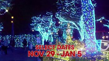 Six Flags Holiday in the Park TV Spot, 'Northern California's Biggest & Brightest: 70 Percent Off' - Thumbnail 3