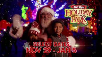 Six Flags Holiday in the Park TV Spot, '70 Percent Off Season Passes and Gold Upgrade' - Thumbnail 1
