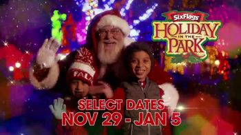Six Flags Holiday in the Park TV Spot, '70 Percent Off Season Passes and Gold Upgrade' - Thumbnail 2