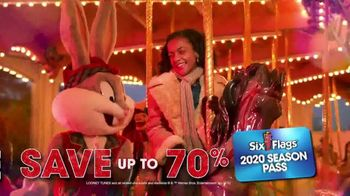 Six Flags Holiday in the Park TV Spot, '70 Percent Off Season Passes and Gold Upgrade' - Thumbnail 5