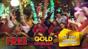 Six Flags Holiday in the Park TV Spot, '70 Percent Off Season Passes and Gold Upgrade' - Thumbnail 7