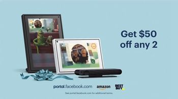 Portal from Facebook TV Spot, 'Holidays: Itsy Bitsy Statler: Any Two' - Thumbnail 9