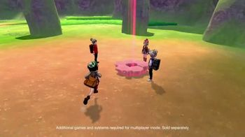 Nintendo Switch TV Spot, 'Holiday Picks: Pokemon Sword & Pokemon Shield' - 31 commercial airings