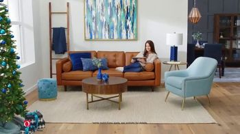 Overstock.com Cyber Week Blowout TV Spot, 'Rugs and Furniture: 20 Percent Off'