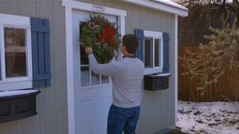 Tuff Shed TV Spot, 'Holidays: Tis the Season for Storage'