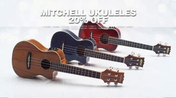 Holidays: Great Gifts: Fender Player Strat and Ukuleles thumbnail