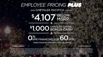 Chrysler Big Finish 2019 TV Spot, 'Holidays: Employee Pricing Plus' [T2] - Thumbnail 9
