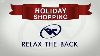 Relax the Back TV Spot, 'Holidays: Car Seats and Massage Chairs' - Thumbnail 1