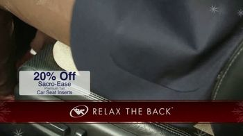 Relax the Back TV Spot, 'Holidays: Car Seats and Massage Chairs' - Thumbnail 3