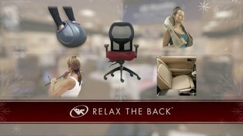 Relax the Back TV Spot, 'Holidays: Car Seats and Massage Chairs' - Thumbnail 6