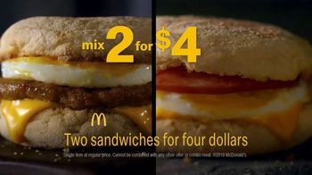 McDonald's TV Spot, 'Breakfast Deals: Two Sandwiches for $4' - Thumbnail 4