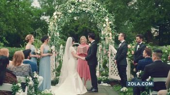 Zola TV Spot, 'Wedding Planning for Couples Getting Married Today' - Thumbnail 1