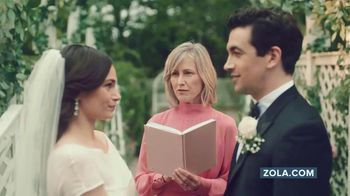 Zola TV Spot, 'Wedding Planning for Couples Getting Married Today' - Thumbnail 2