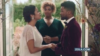 Zola TV Spot, 'Wedding Planning for Couples Getting Married Today' - Thumbnail 4