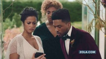 Zola TV Spot, 'Wedding Planning for Couples Getting Married Today' - Thumbnail 7