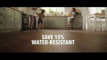 Lumber Liquidators TV Spot, 'Styles & Features: Waterproof Flooring' Song by The Electric Banana - Thumbnail 4