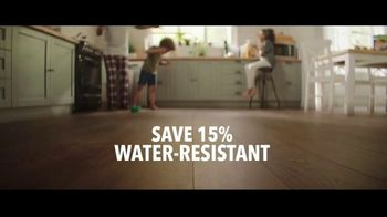 Lumber Liquidators TV Spot, 'Styles & Features: Waterproof Flooring' Song by The Electric Banana - Thumbnail 5