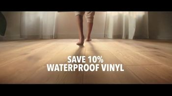 Lumber Liquidators TV Spot, 'Styles & Features: Waterproof Flooring' Song by The Electric Banana - Thumbnail 6