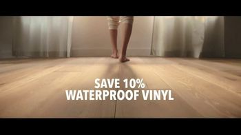 Lumber Liquidators TV Spot, 'Styles & Features: Waterproof Flooring' Song by The Electric Banana - Thumbnail 7