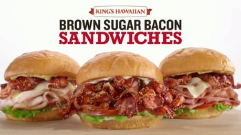 Arby's Brown Sugar Bacon Sandwiches TV Spot, 'Sandwich Party' song by YOGI - Thumbnail 6