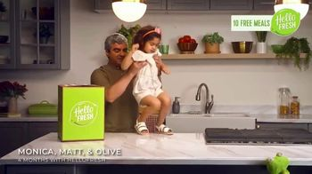 HelloFresh TV Spot, 'The Glicken Family: 10 Free Meals' - Thumbnail 2