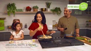 HelloFresh TV Spot, 'The Glicken Family: 10 Free Meals'