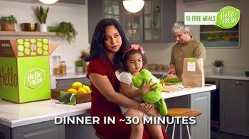 HelloFresh TV Spot, 'The Glicken Family: 10 Free Meals' - Thumbnail 4
