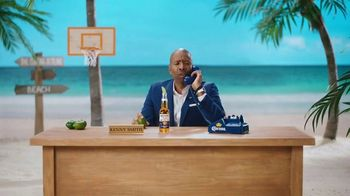 Corona TV Spot, 'Hotline: Buckets on Buckets' Featuring Kenny Smith - Thumbnail 6