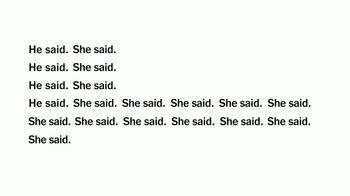 The New York Times TV Spot, 'He Said, She Said'