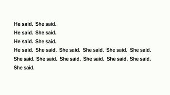 The New York Times TV Spot, 'He Said, She Said'