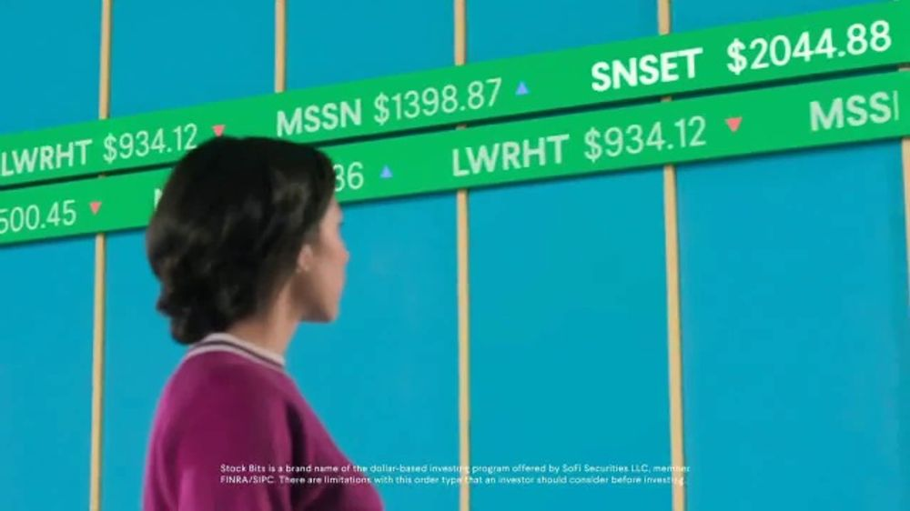 SoFi TV Commercial, 'Invest: Stock Bits' Song by Delicate Beats