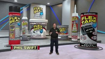 Flex Seal Family of Products TV Spot, 'Lineup' Featuring Phil Swift - Thumbnail 1