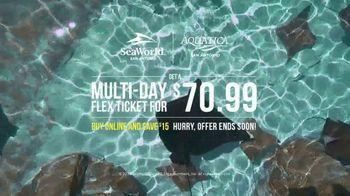 SeaWorld San Antonio TV Spot, 'Multi-Day Flex Ticket: $70.99' - Thumbnail 7