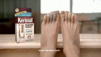 Kerasal Fungal Nail Renewal TV Spot, 'Toe Talk: Two Days' - Thumbnail 7